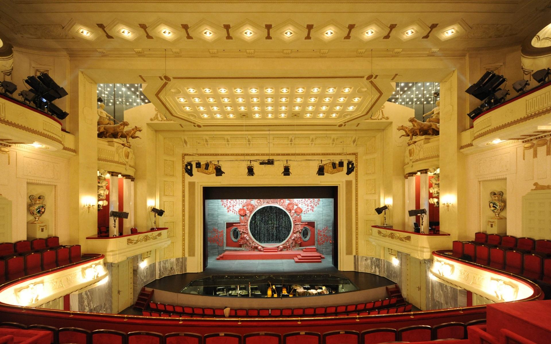 Theatersaal im Staatstheater Cottbus