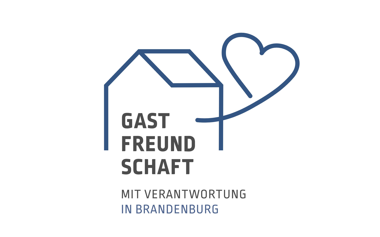 """Logo """"Gastfreundschaft mit Verantwortung"""""""